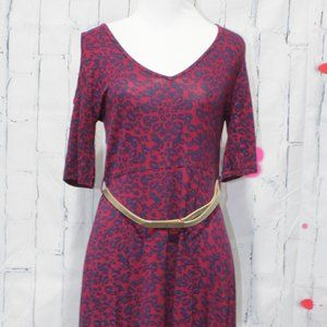 VFISH MOONSTONE LEOPARD BERRY DRESS SIZE SMALL